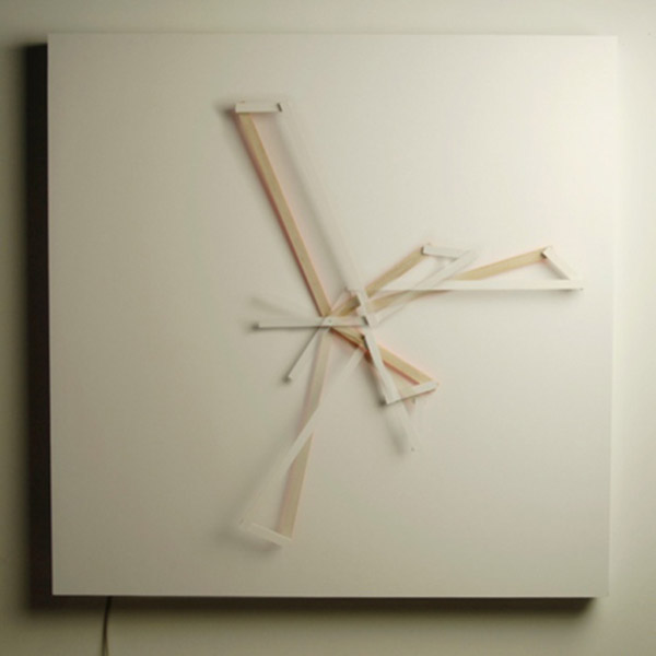 The Oblique Clock by Science&Sons 2