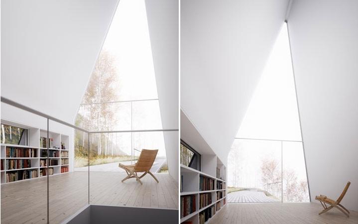 Allandale House bookshelf