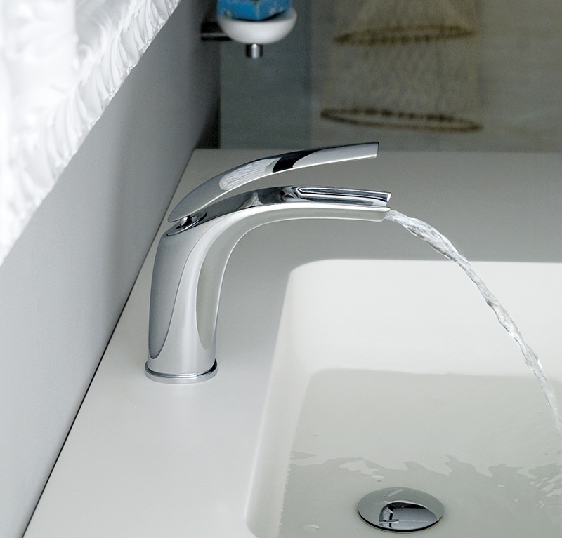 Aria Bathroom Washbasin mixer tap by Webert 1