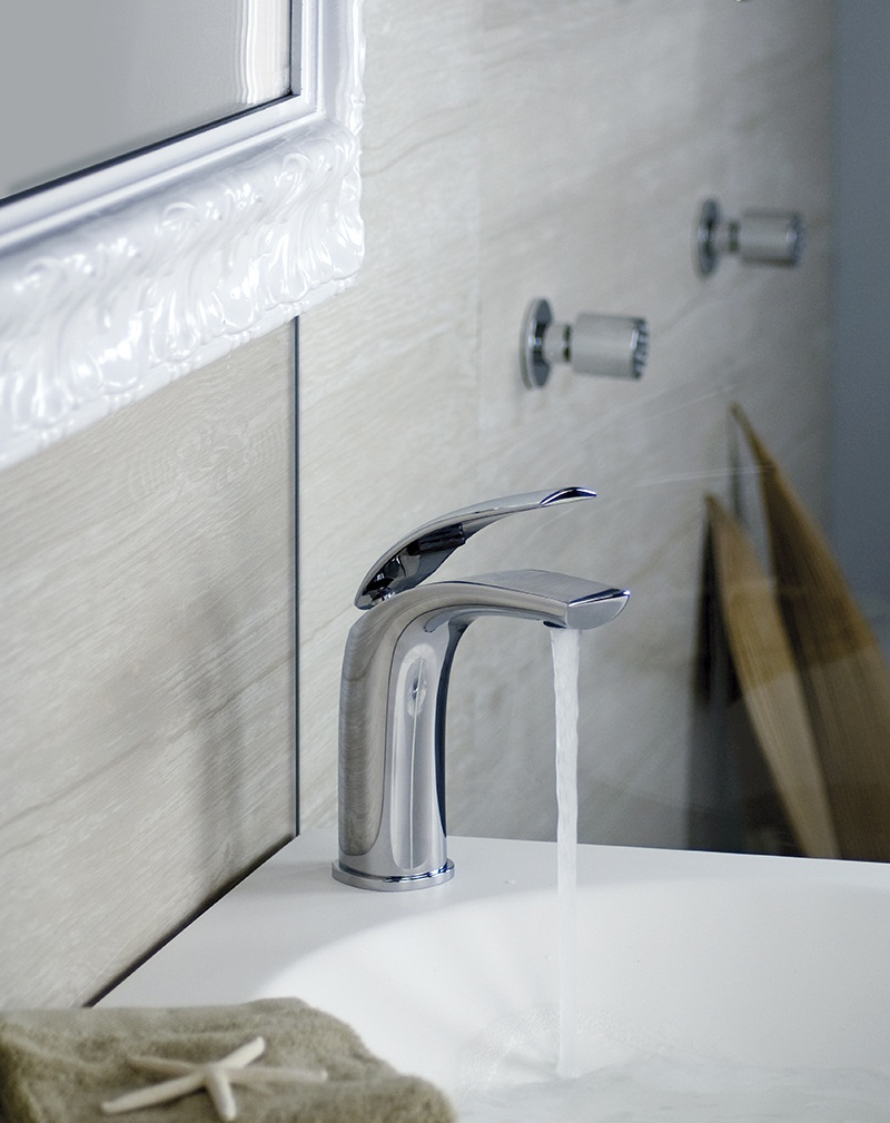 Aria Bathroom Washbasin mixer tap by Webert 4