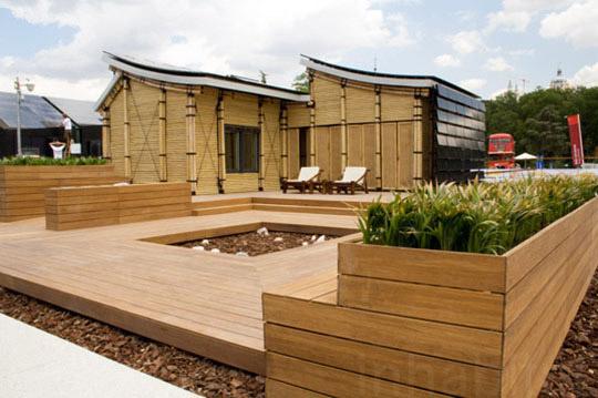 Eco-Friendly Sustainable Bamboo Solar House 2