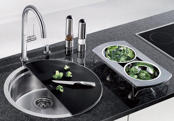 Multipurpose Kitchen Bowl Sink BLANCORONIS 3