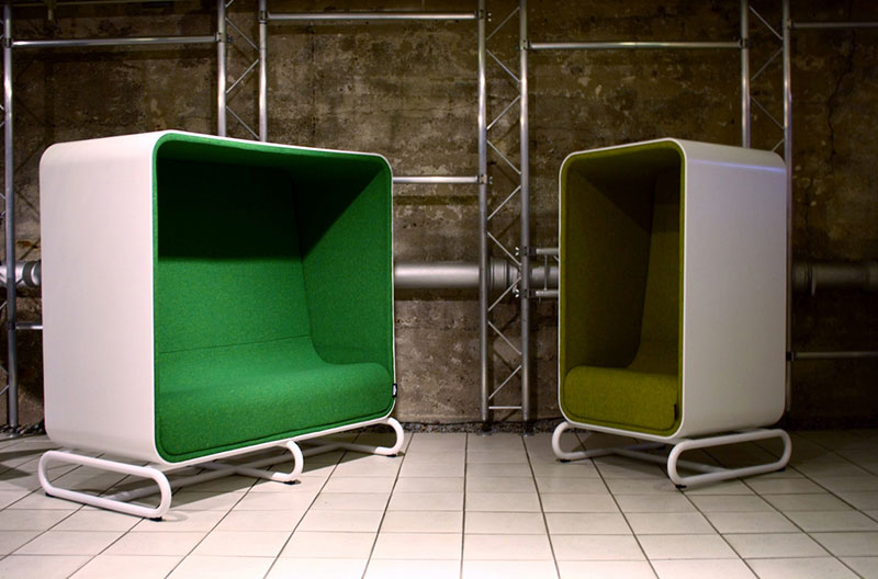 Box Sofa and Box Lounger by Loook Industries 4