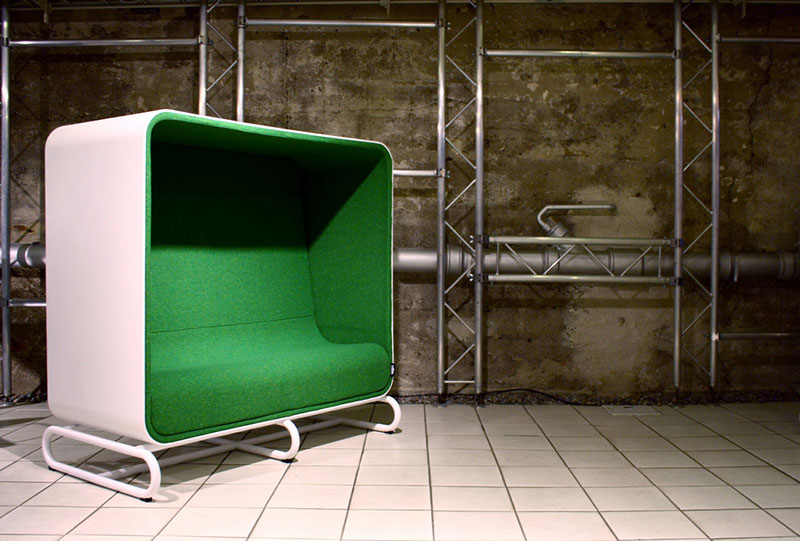 Box Sofa and Box Lounger by Loook Industries 5