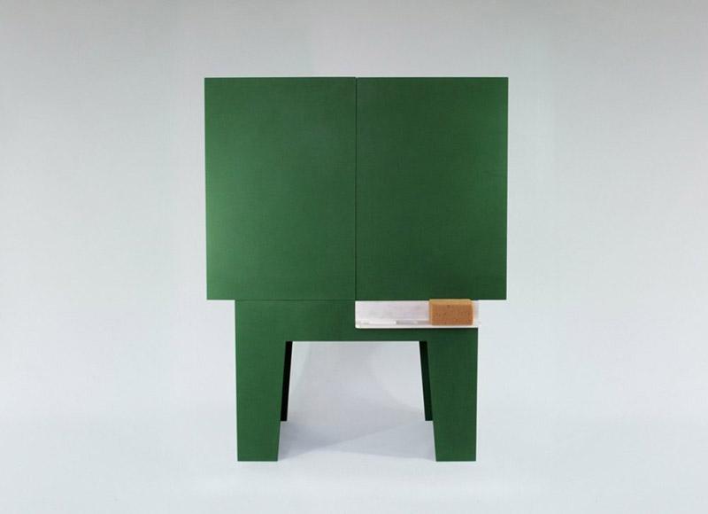Blackboard - Chalkboard storage cabinet 2
