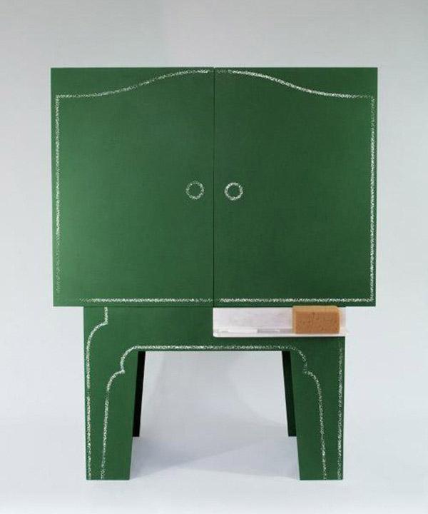 Blackboard - Chalkboard storage cabinet 5
