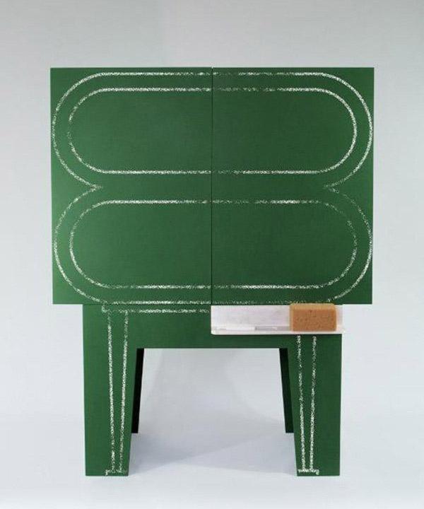 Blackboard - Chalkboard storage cabinet 7