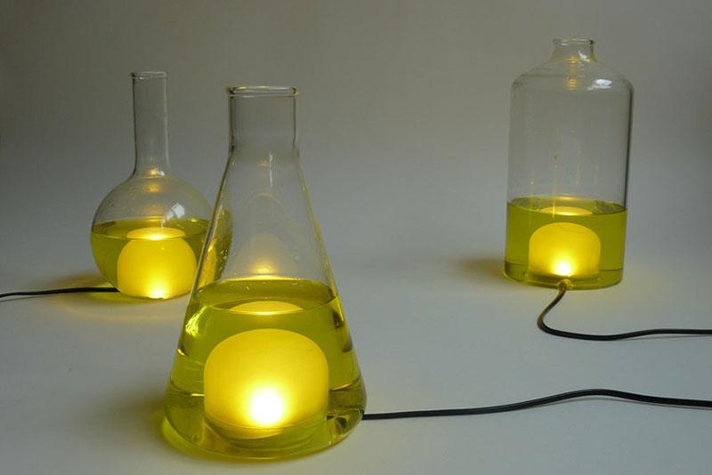 Color changing Lamp design Liquid Lights 2