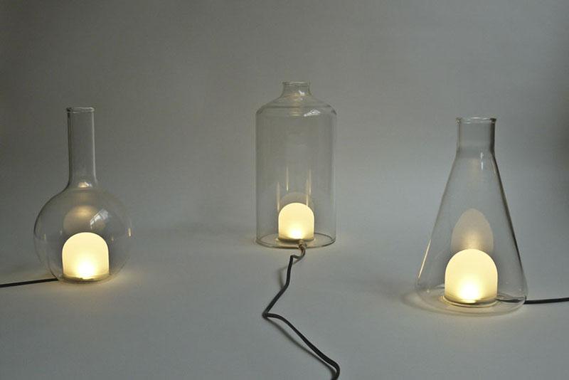 Color changing Lamp design Liquid Lights 3
