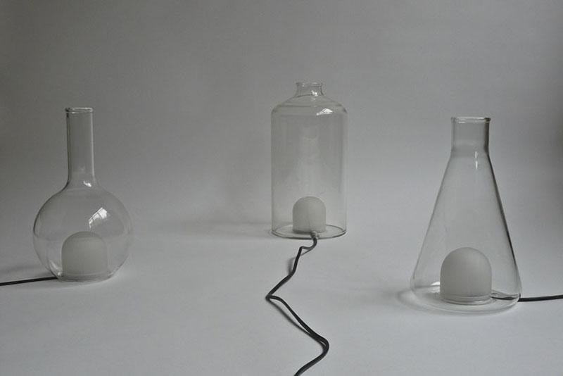 Color changing Lamp design Liquid Lights 4