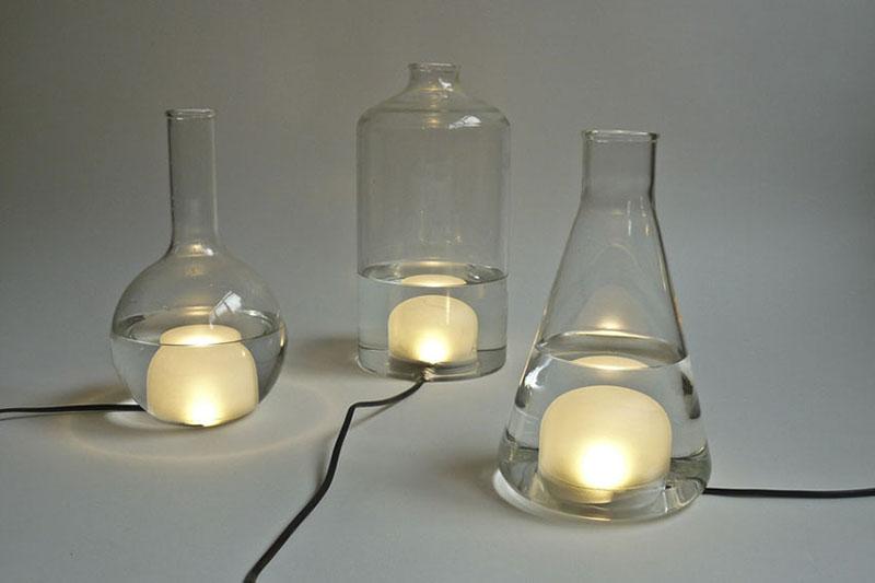 Color changing Lamp design Liquid Lights 5