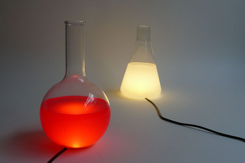 Color changing Lamp design Liquid Lights 6