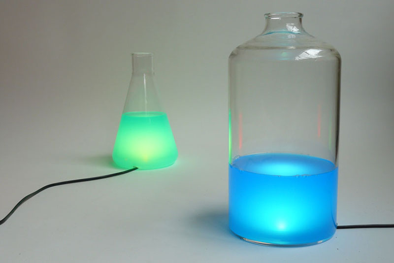 Color changing Lamp design Liquid Lights 7