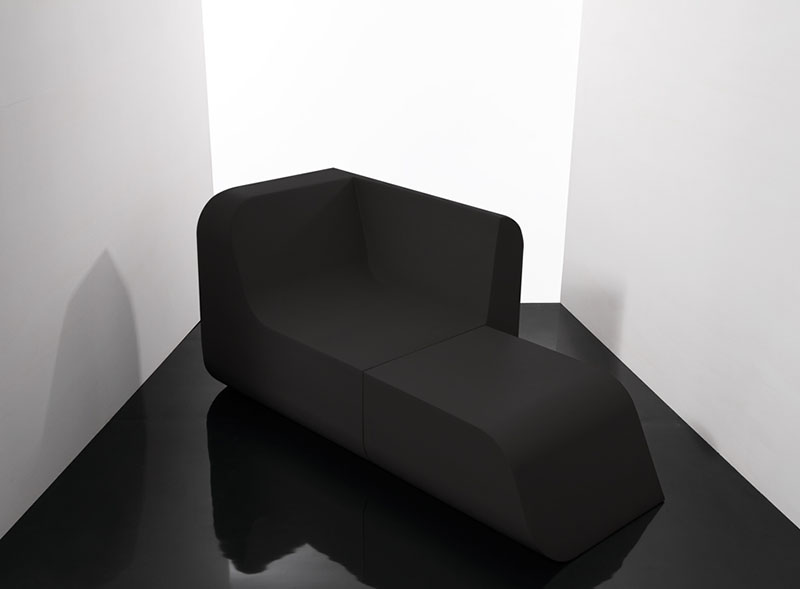 Transformable furniture set Dual Cut Foam Block