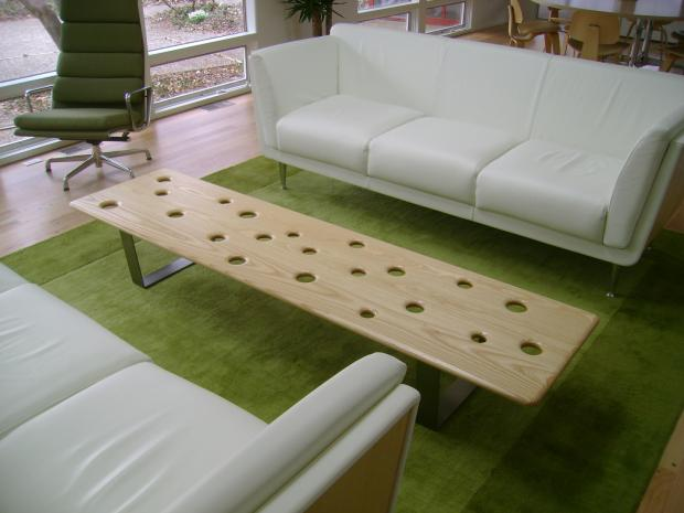 Fizz Bench with White Ash Top