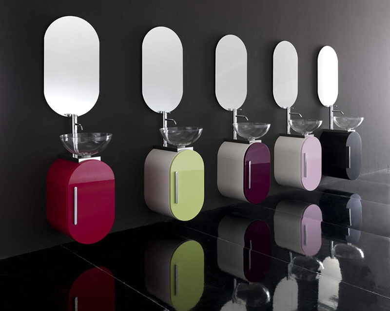 Flux_US Bathroom Furniture Collection by Lasa Idea 1