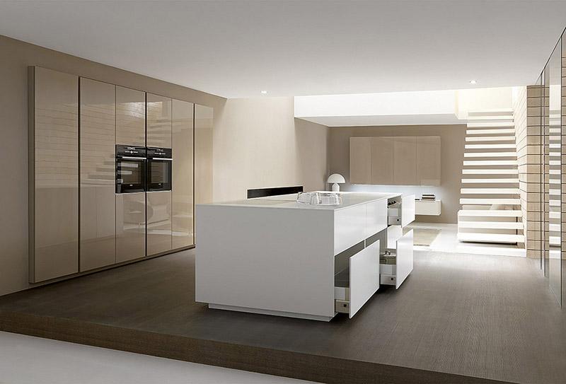Linea Modern Kitchen By Comprex 11
