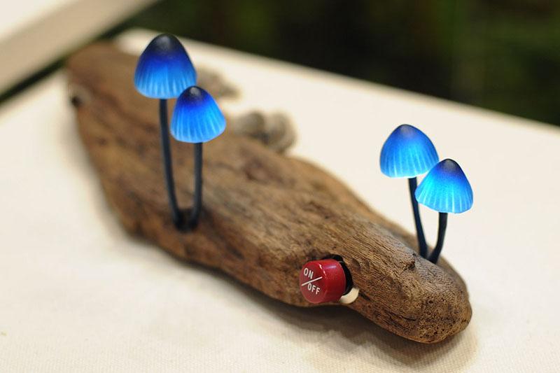 Mushroom Lamps by Great Mushrooming 1
