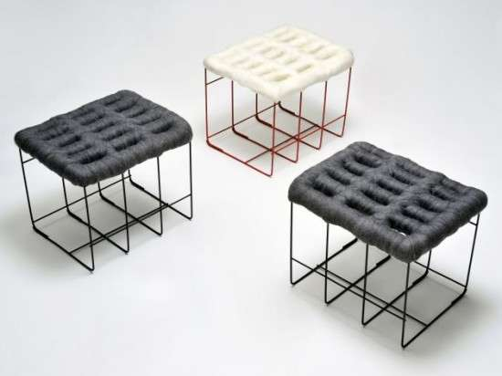 Sheep stool design by Noji Berlin 1