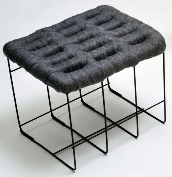 Sheep stool design by Noji Berlin 2