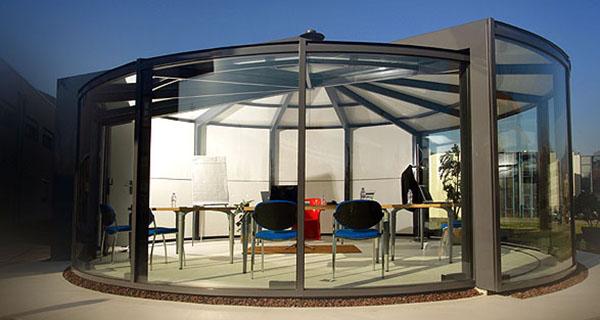 Modern Outdoor Glass Extension Veranda OpenSun 5