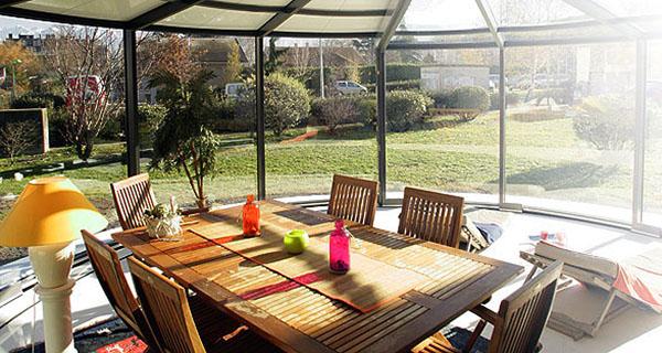 Modern Outdoor Glass Extension Veranda OpenSun 6