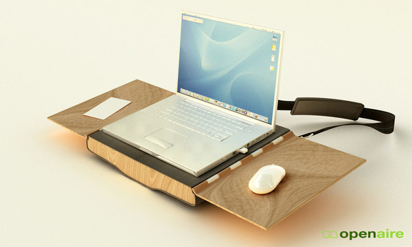 Portable office furniture Openaire