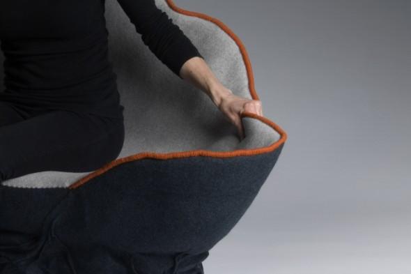 Unique Upholstered Sofa Ostrea by Annika Goransson 4