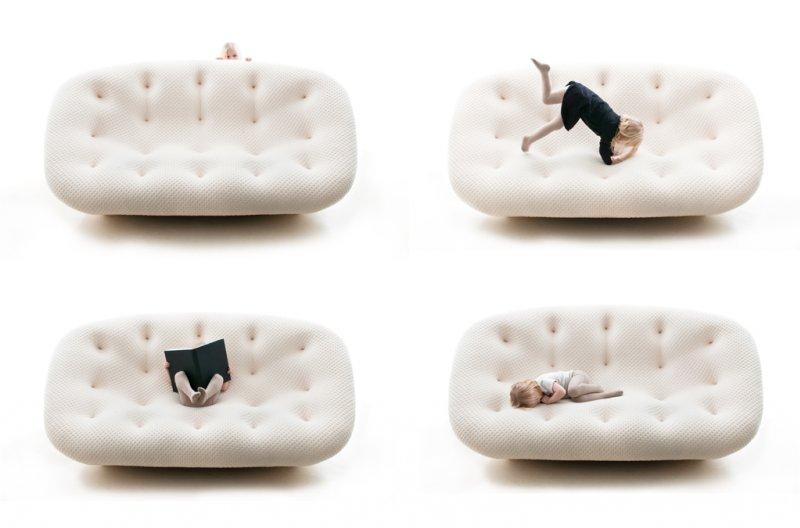 Ploum Sofa by Ronan & Erwan Bouroullec 1