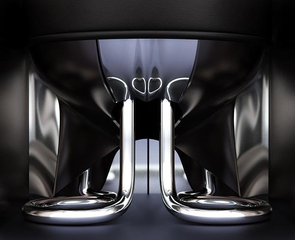 Retro-Futuristic furniture Rondocubic Chair 7