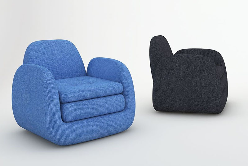 Royale Armchair by Beaverhausen for INDERA 1