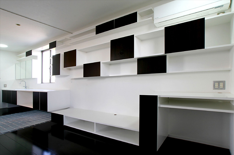 Minimalist Modern Living Space by Studio Green Blue 4