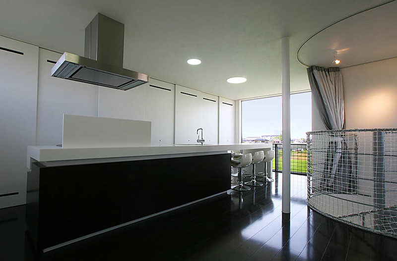 Minimalist Modern Living Space by Studio Green Blue 5