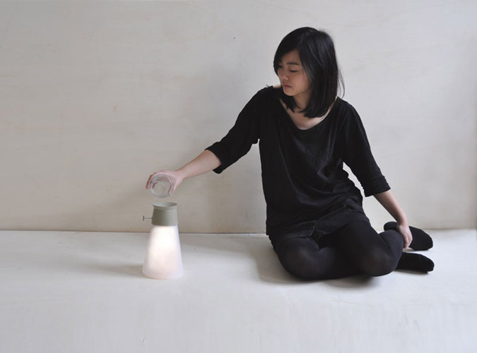 Innovative Lamp Wat powered by Water 2