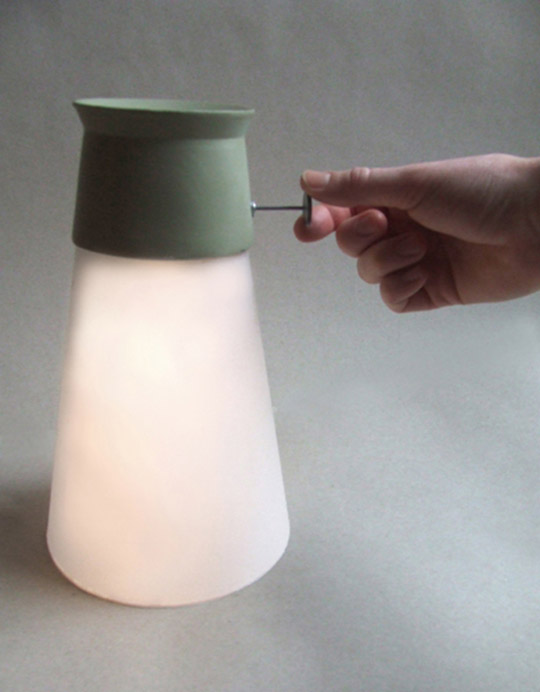 Innovative Lamp Wat powered by Water 5