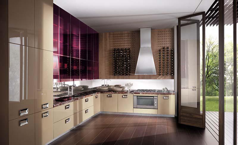Modern Italian Kitchen design Barrique 12