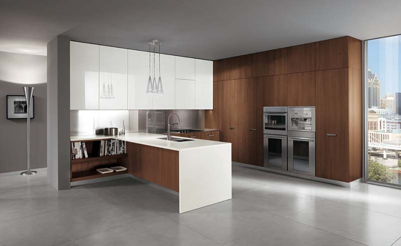Barrique Kitchen by Italian company Ernestomeda 2