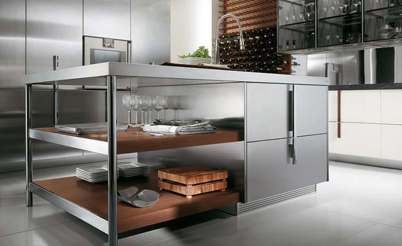 Modern Italian Kitchen design Barrique 1