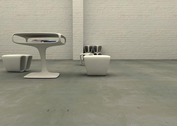 Elegant and Modern Bones Furniture Collection 5