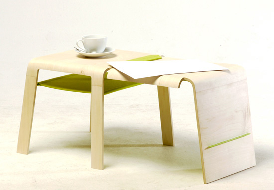 Changeable Coffee Table cum Chair by Wing Fung Ng 4