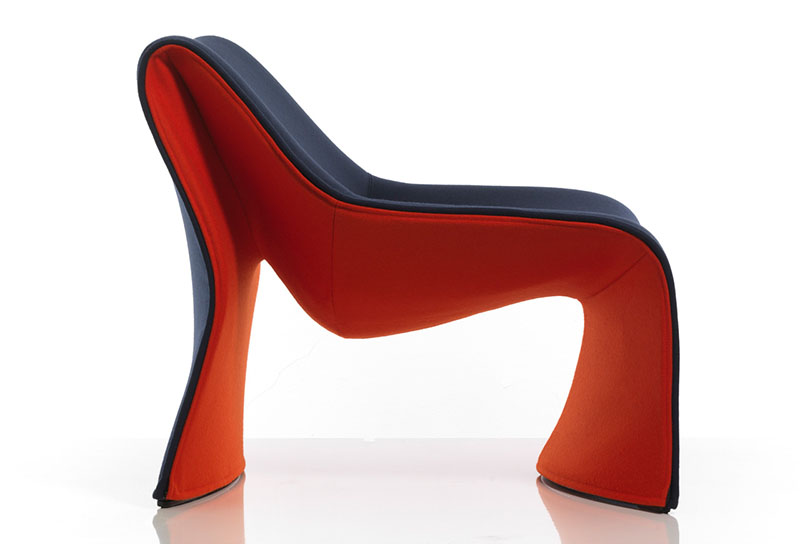 Comfortable Armchair Cloth by CASSINA 3