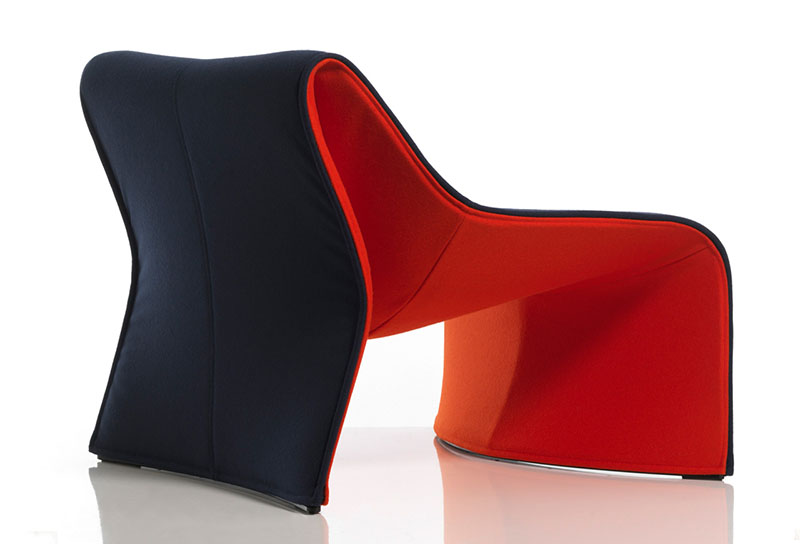 Comfortable Armchair Cloth by CASSINA 4