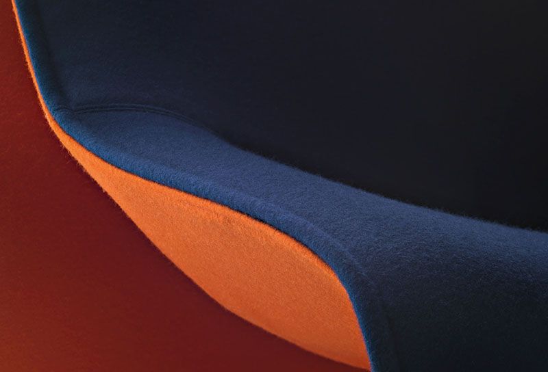 Comfortable Armchair Cloth by CASSINA 7
