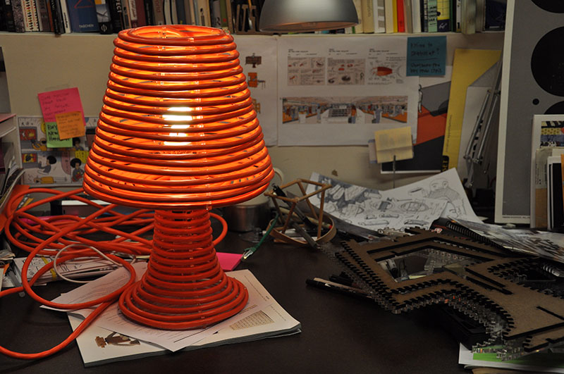 Coil Lamp by Craighton Berman 2
