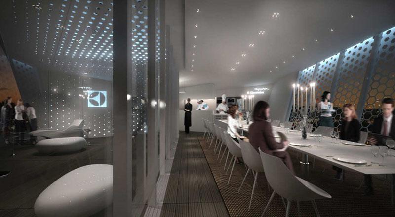 Electrolux Cube Dining Pavilion by Park Associati 5