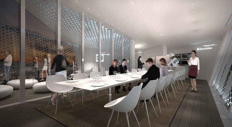 Electrolux Cube Dining Pavilion by Park Associati 6