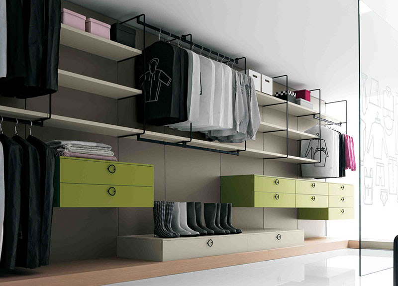 Gradient Walk-In Wardrobe 2