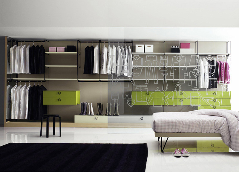 Gradient Walk-In Wardrobe 3