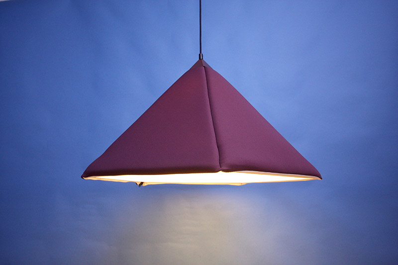 Industry upholstered pendant Lamp by Jonas Wagell 1
