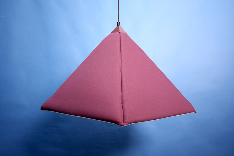 Industry upholstered pendant Lamp by Jonas Wagell 3